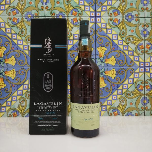 Whisky Lagavulin Distillers Edition 2016 vol 43% cl 70