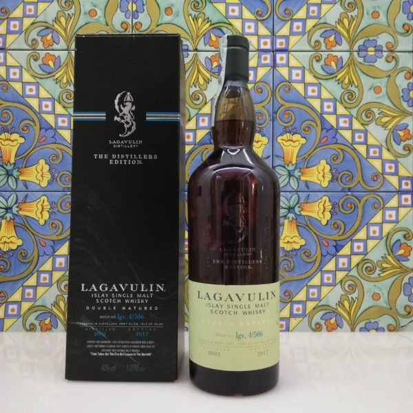 "Scotch Whisky Single Malt ""Lagavulin Distillers  Edition"" 2017  vol 43% 1 Litre"