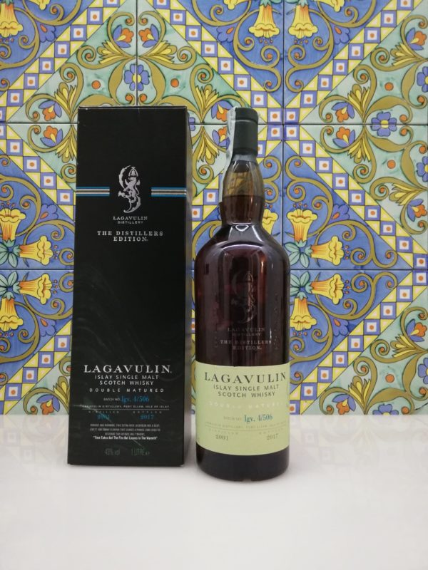 "Scotch Whisky Single Malt ""Lagavulin Distillers  Edition"" 2017  vol 43% 1 Litre"