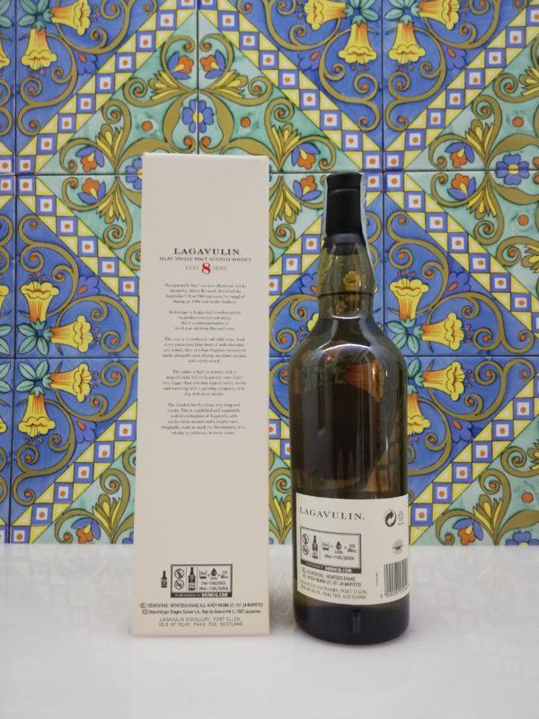 """Islay Single Malt Scotch Whisky """"Lagavulin"""" 8 Y.O.  vol 48% cl 70"""