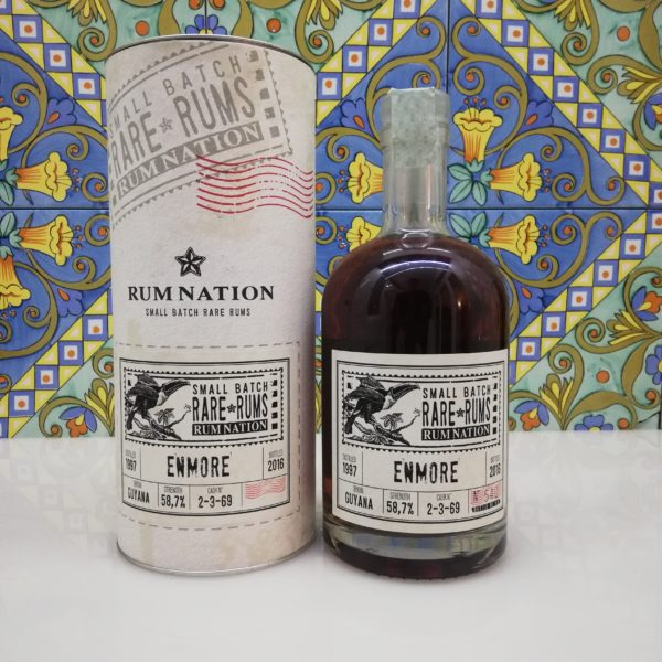 Rum Nation Rare Rums Enmore 1997-2016 vol 58,7% cl 70