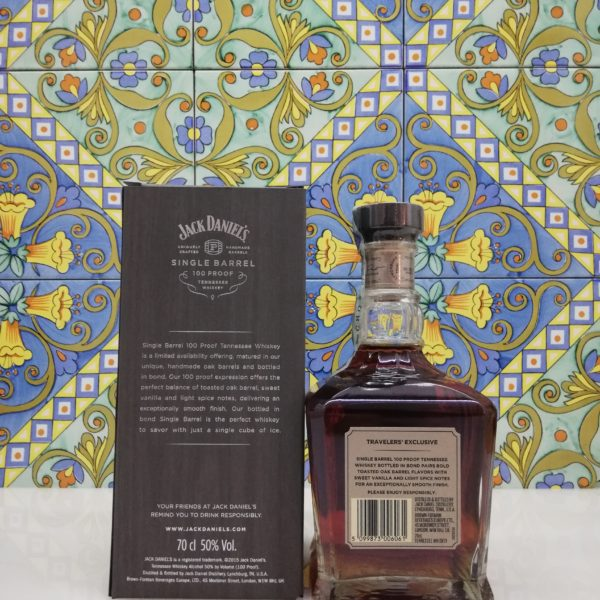 Whisky Jack Daniel's Single Barrel 100 Proof vol 50% cl 70