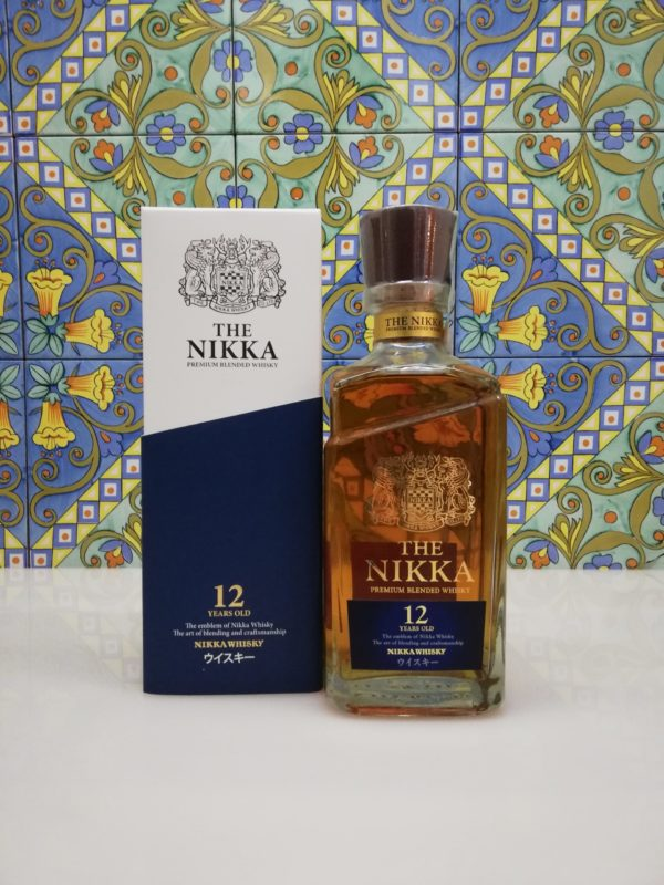 Whisky Nikka 12 Years Old Blended Japanese  –  vol 43% cl 70