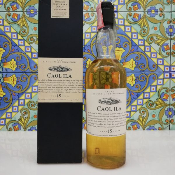 Whisky Caol Ila 15 years Flora & Fauna vol 43% cl 70