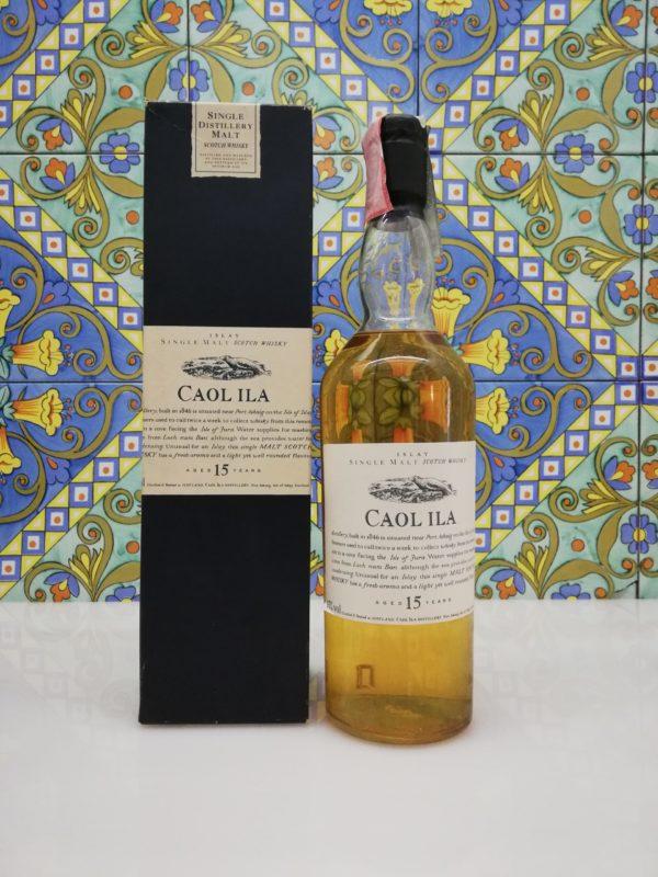Whisky Caol Ila 15 years Flora & Fauna vol 43% cl 70
