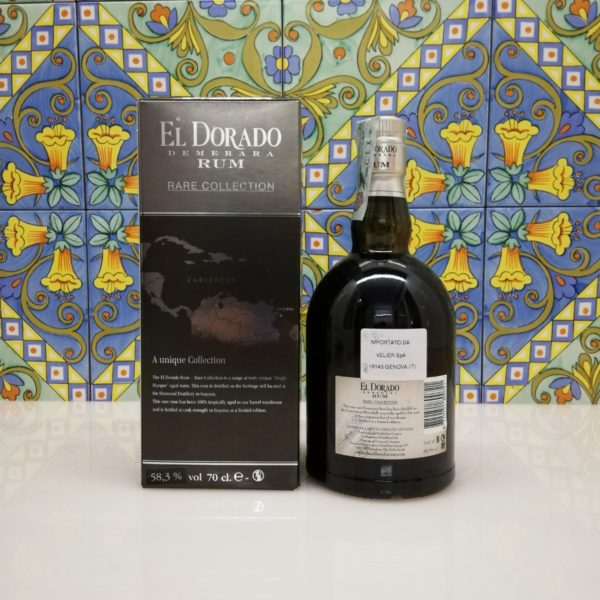 Rum El Dorado Rare Collection Skeldon 2000 70cl 58,3%vol