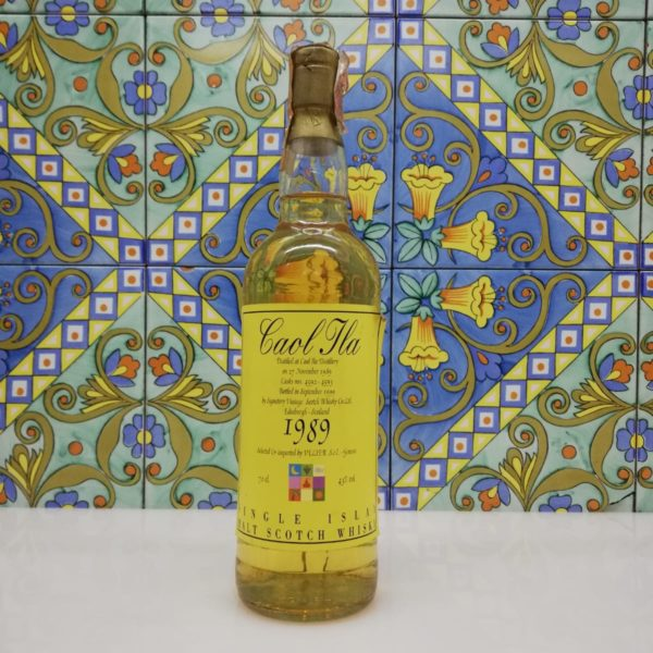 Whisky Caol Ila 1989 Signatory for Velier  vol 43% cl 70