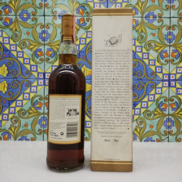 Macallan 12 Y.O Sherry Oak Cask from Jerez vol 40% cl 70
