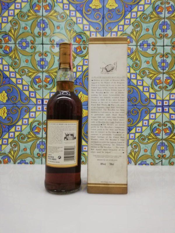 Macallan 12 Y.O Sherry Oak Cask from Jerez vol 40% cl 70