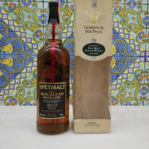 Whisky Macallan 1977 Speymalt Gordon and MacPhail vol 40% cl 70
