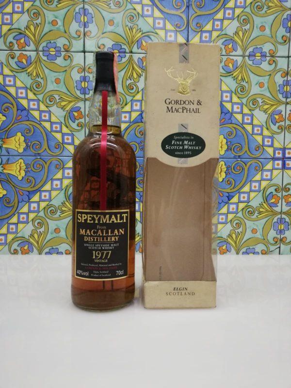 Whisky Macallan 1977 Speymalt Gordon and MacPhail vol 40% cl 70