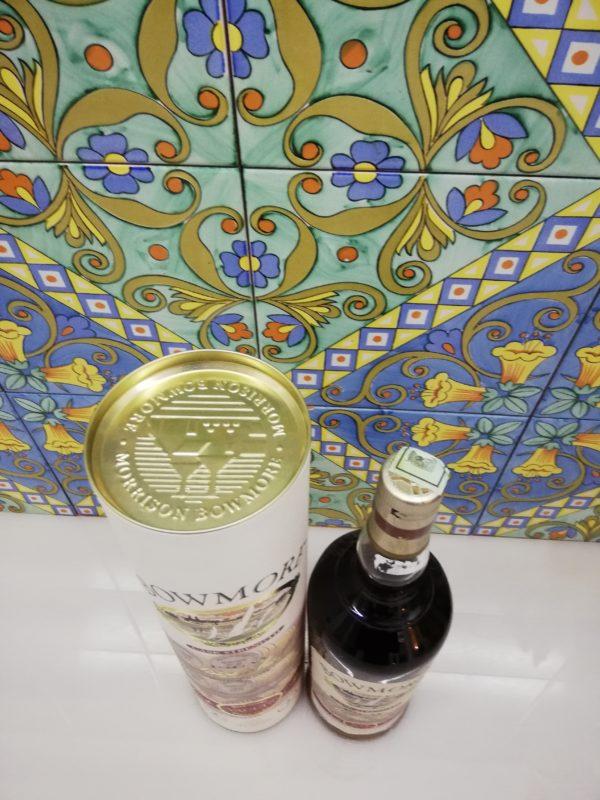 "Whisky Bowmore cask strength ""Vaults"" vol 56% litre 1"