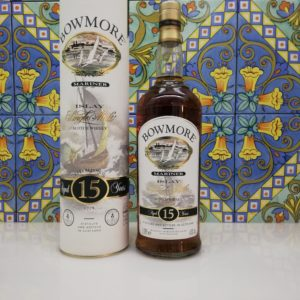 Whisky Bowmore 15 Year Old Mariner vol 43% Litre 1