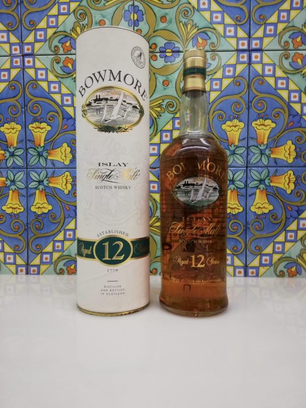 Whisky Bowmore 12 Year Old 1990s – vol 43% litre 1