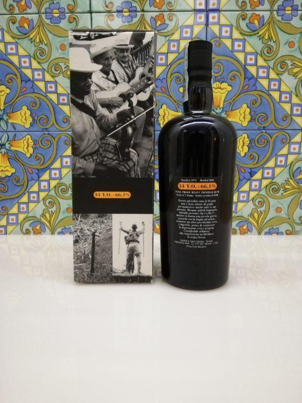 Rum Caroni 1974 Full Proof Heavy Trinidad Rum – 34 Y.O. vol 66,1%  cl 70