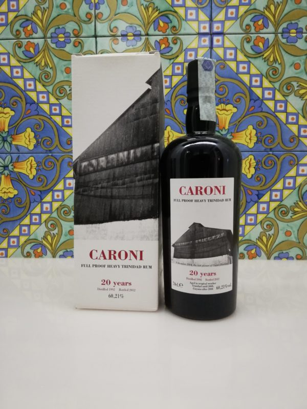Rum Caroni 20 Years Full Proof Heavy Trinidad Rum- vol 60,21% cl 70