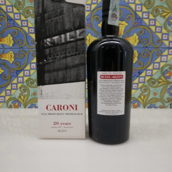 Rum Caroni 20 Years Full Proof Heavy Trinidad Rum- vol 60,21% cl 70