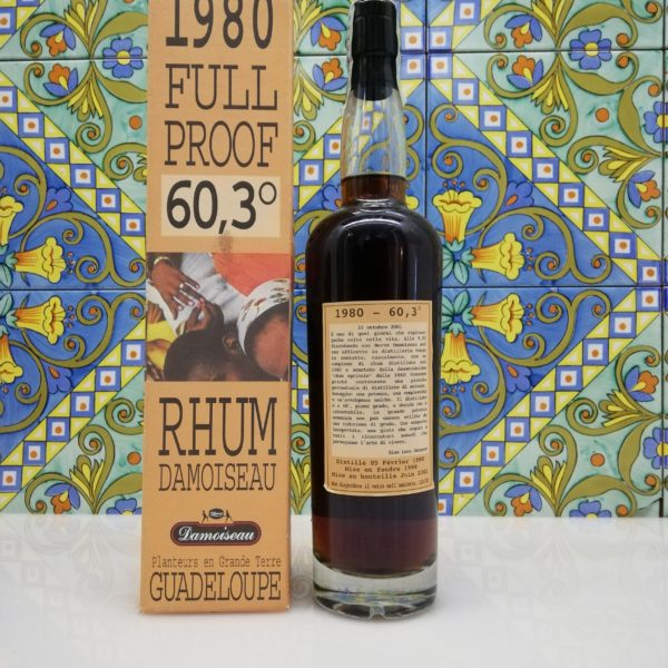 Rum Rhum Damoiseau 1980 Full Proof 60,3° cl 70