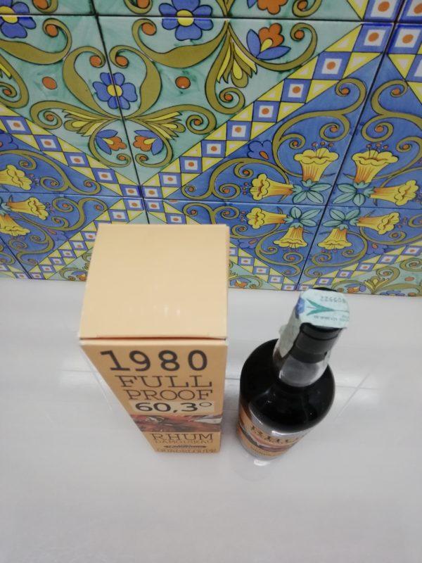 Rum Rhum Damoiseau 1980 Full Proof 60,3° cl 70