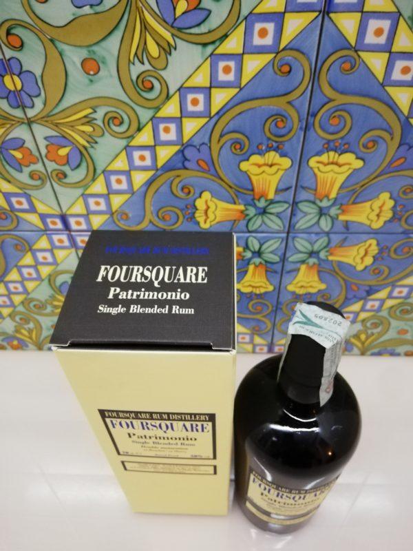 Rum Foursquare Patrimonio – cl 70 vol 58%