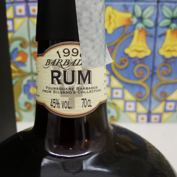 Rum Foursquare Barbados 1998- Masam- 20 y.o. cl 70 vol 48%