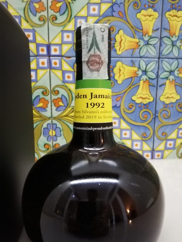 Rum Hampden Jamaica 1992 -Masam- 27 y.o cl 70 vol 54,5%