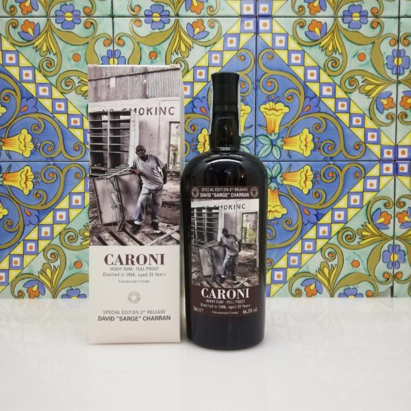 "Rum Caroni Employees 2nd release – David ""Sarge"" Charran 1996 – Kevon ""Slippery"" Moreno 1998"