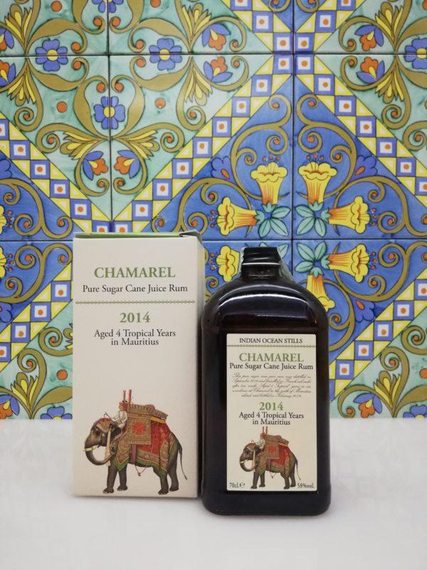 "Rhum Agricole ""Indian Ocean Stills"" 2014 Chamarel Distillery    –   cl 70  vol 58 %"