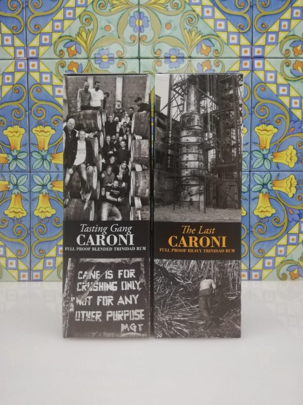 "Rum Caroni release 2019- Caroni 1996 ""The Last"" 23 Y.O. – Caroni 1996 ""Tasting Gang"" 23 Y.O."