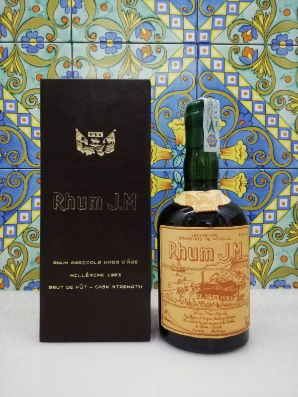 Rum J.M. Agricole Martinique 1993 15 y.o.  Vol.45,8% cl.70
