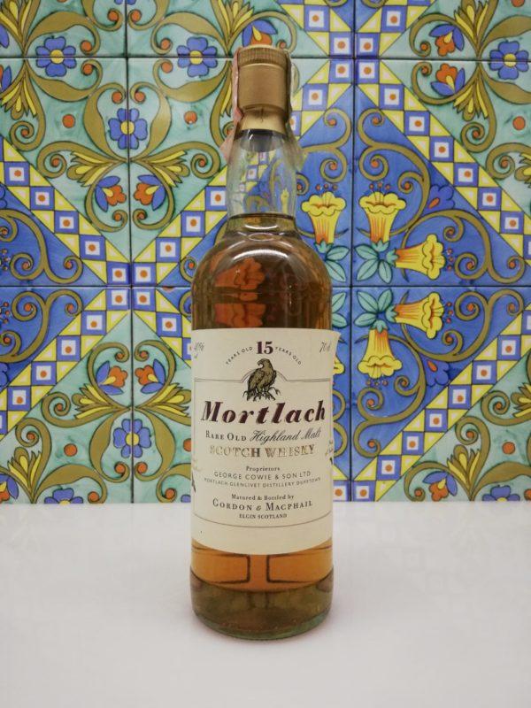 Whisky Mortlach 15 Y.O.  Gordon & MacPhail vol 40% cl 70