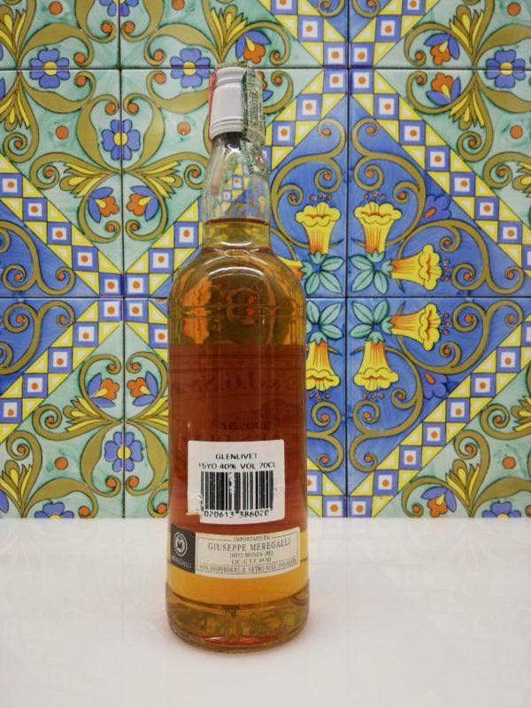 Whisky Glenlivet 15 Y.O.  Gordon & MacPhail vol 40 % cl 70