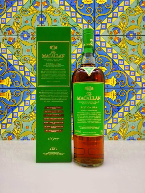 The Macallan Edition N 4 – Highland Single Malt Scotch Whisky  vol 48,4 % 70cl