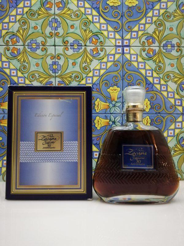 Rum Ron Zacapa Centenario 30 Aniversario Old Edicion Especial vol 40% cl 70