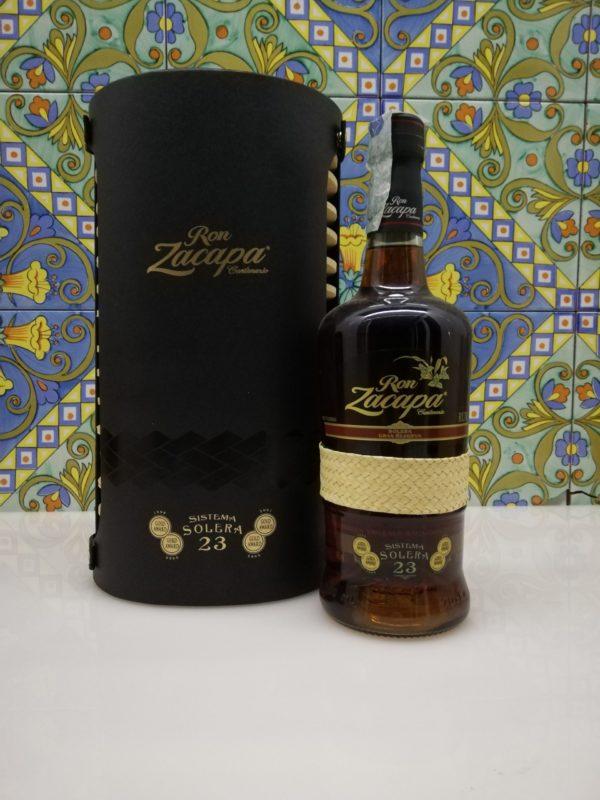 Ron Zacapa Sistema 23 Solera Gran Riserva Producto De Guatemala cl 70 vol 40%