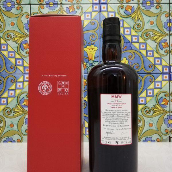 Rum Monymusk 11 y.o MMW Wedderburn Tropical Aging cl 70 vol 69,1%