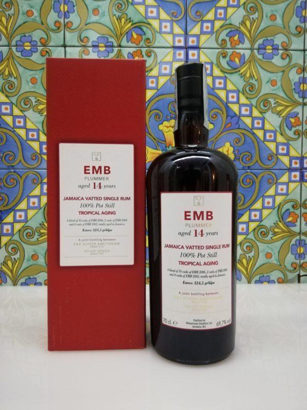 Rum Monymusk 14 y.o EMB Plummer Tropical Aging cl 70 vol 69,7%