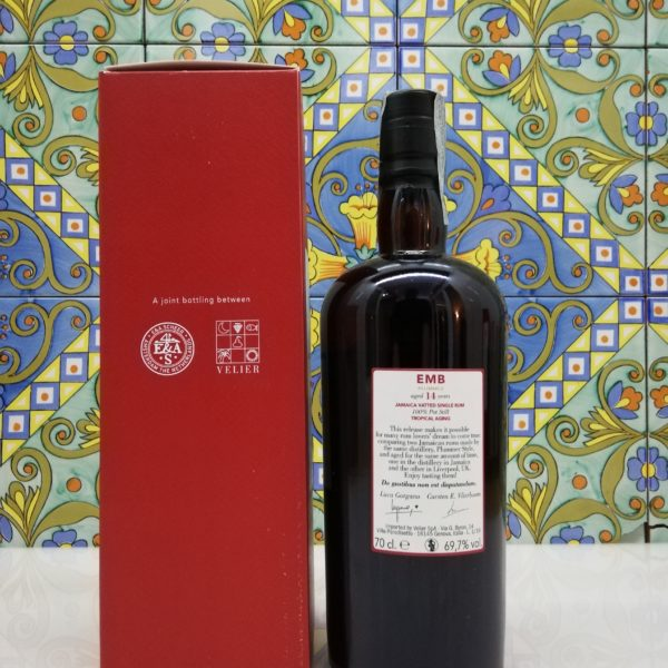 Rum Monymusk 14 y.o EMB Plummer Tropical Aging cl 70 vol 69,7%