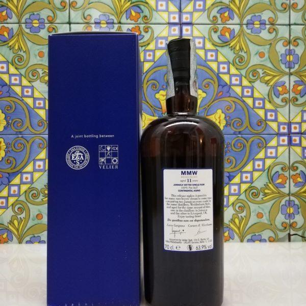 Rum Monymusk 11 y.o MMW Wedderburn Continental Aging cl 70 vol 63.9%