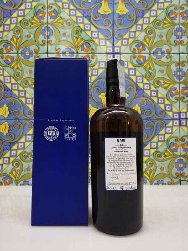 Rum Monymusk 14 y.o EMB Plummer Continental Aging cl 70 vol 64,8%