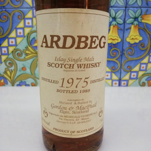 Whisky Ardbeg 1975 Islay Single Malt Gordon & Macphail cl 75 vol 40%
