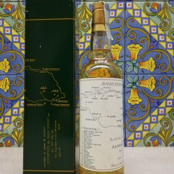 Rum Jamaica Sugar Estate Monymusk Moon Import Distilled 2003 cl 70 vol 45%