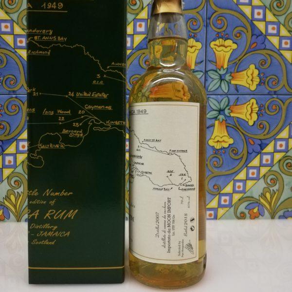 Rum Jamaica Sugar Estate Monymusk Moon Import Distilled 2007 cl 70 vol 45%