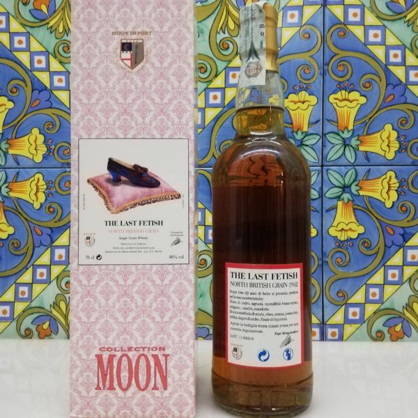 Whisky The Last Fetish Moon Import North British Grain Distilled 1962- cl 70 vol 46%