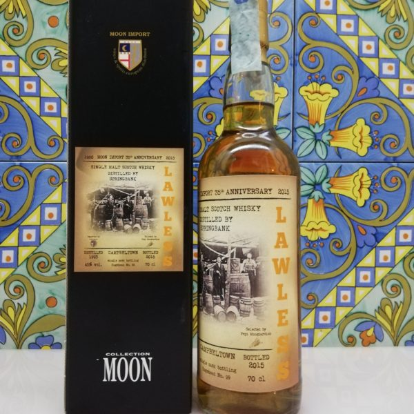 "Whisky Moon Import 35° Anniversary Springbank ""Lawless"" Distilled 1993 -cl 70 vol 45%"