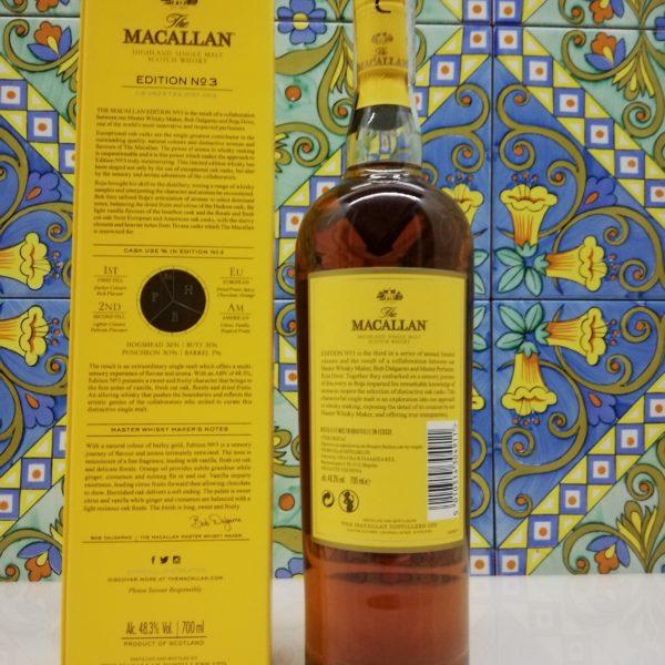 Whisky The Macallan Edition No.3 cl 70 vol 48.3%