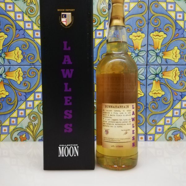 "Whisky Moon Import 35° Anniversary Bunnahabhain ""Lawless"" Distilled 1990 cl 70 vol 45%"