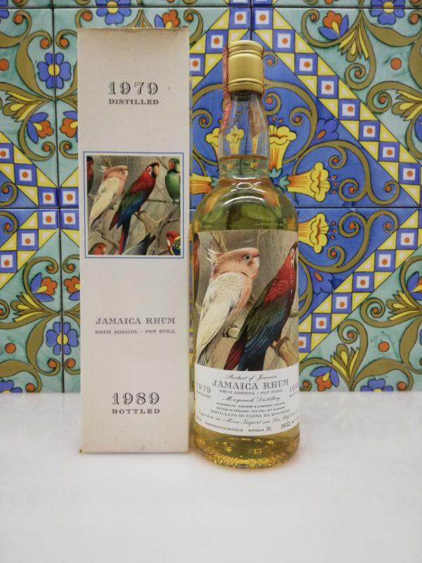 Rum Jamaica Monymusk 1979-1989 Moon Import vol 46% cl 70