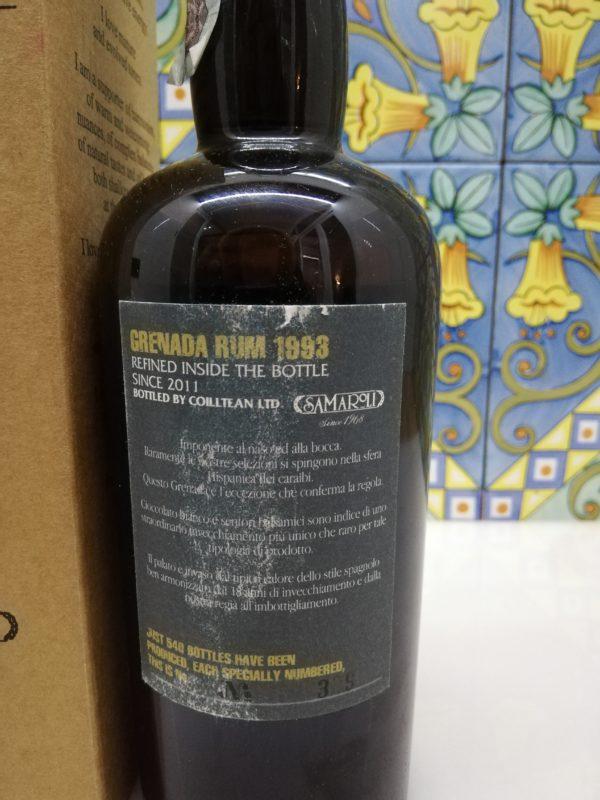 Rum Samaroli Grenada 1993 Cask N 1277-1282 vol 45% cl 50