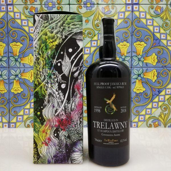 Rum Hampden Single Cask The Wild Parrot 1998-2018 Trelawny cl 70 vol 63,1 %